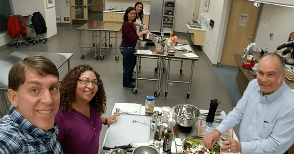 TeamSoft's Mediterranean Cooking Class