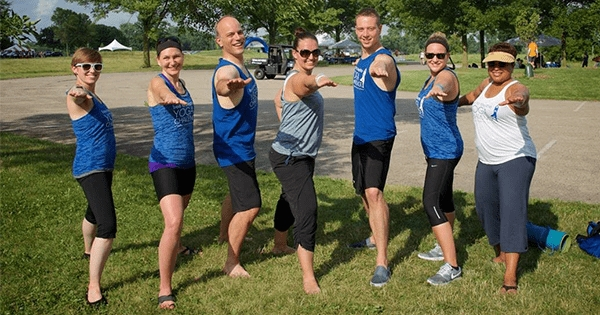 TeamSoft Sponsors Yogathon for Lung Cancer Research